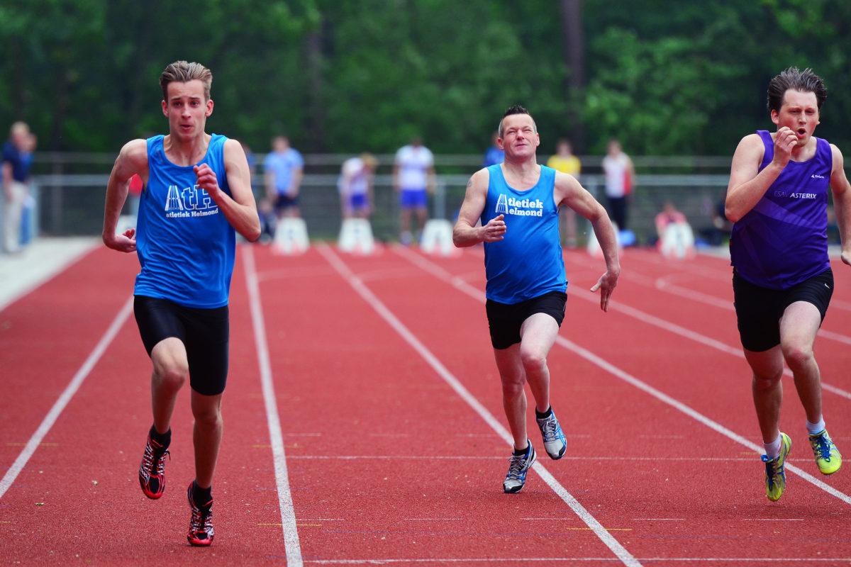 Seniorencompetitie 100 meter
