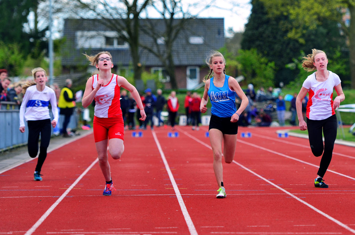 Lara wint de 60 meter