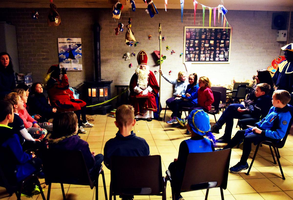 Sinterklaas bij AtH