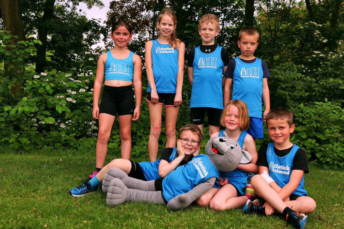 Groepsfoto Athletics Champs Roermond
